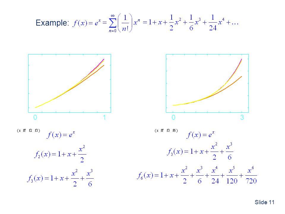 Example: 1 3