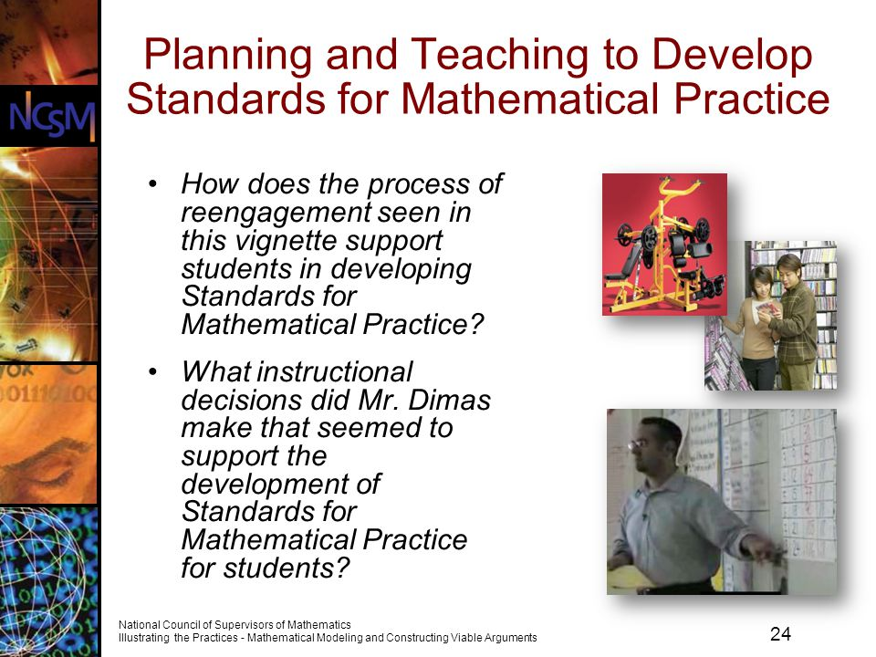 Planning and Teaching to Develop Standards for Mathematical Practice