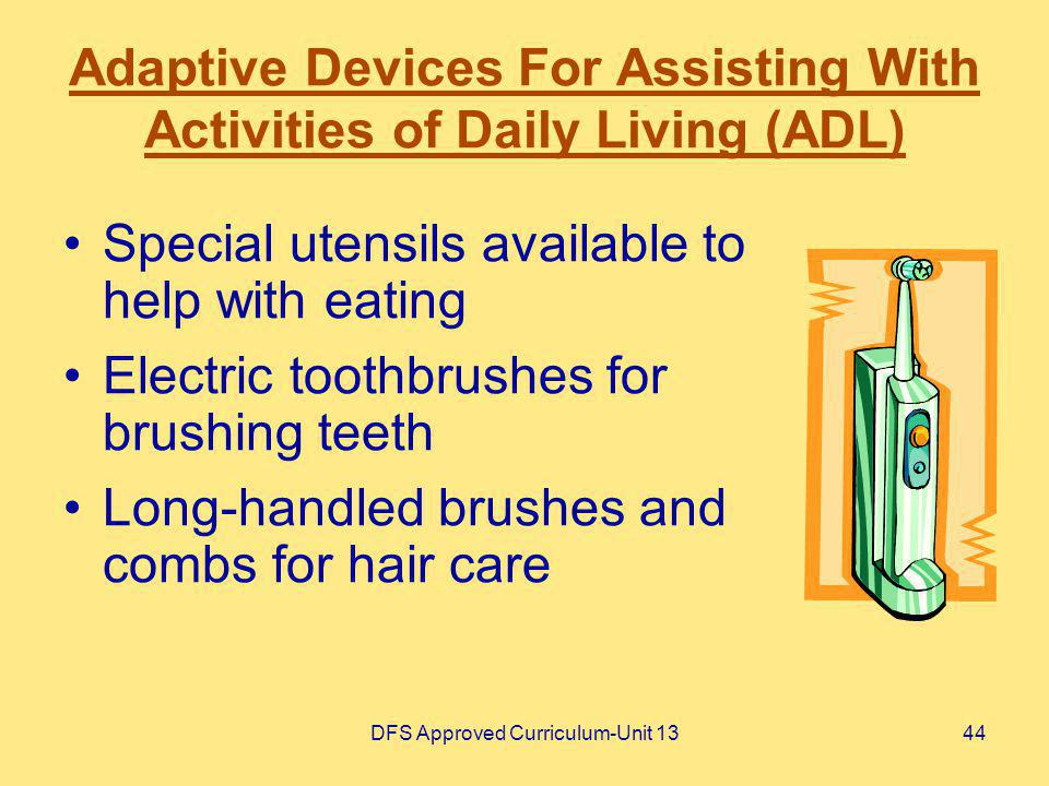 Adaptive Devices For Assisting With Activities of Daily Living (ADL)
