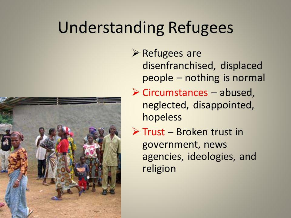 Understanding Refugees