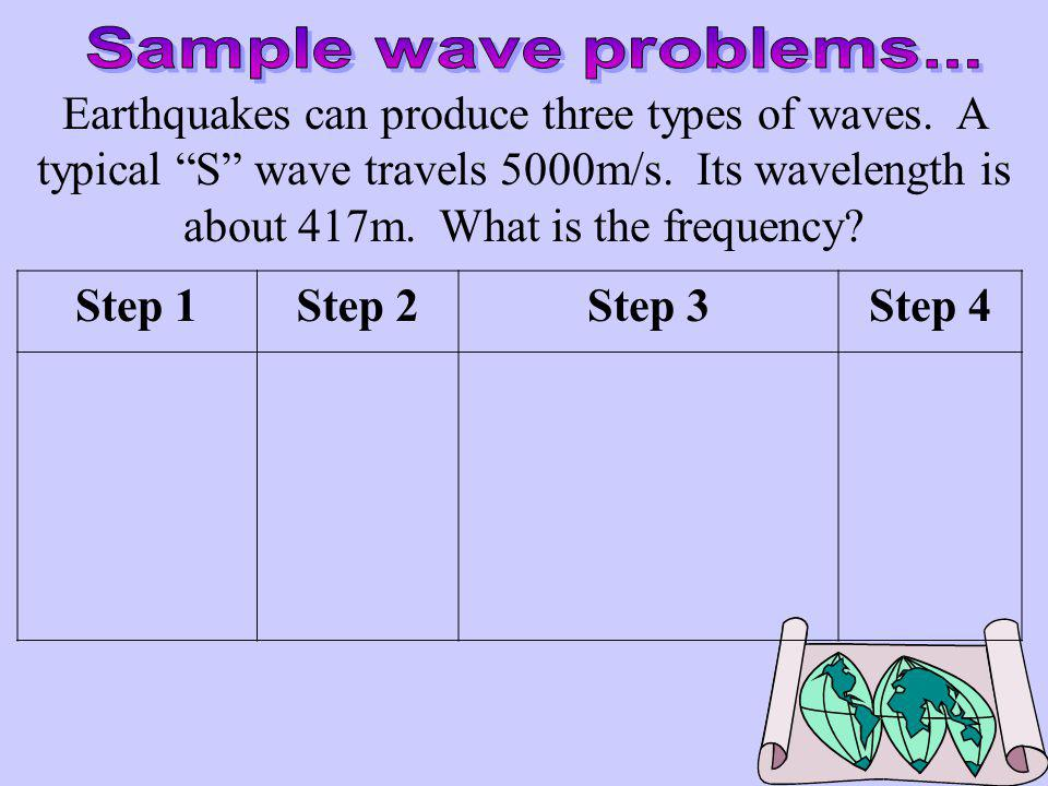 Sample wave problems...