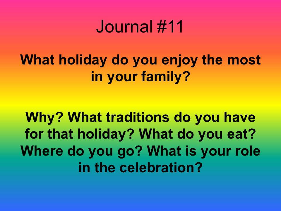 Journal #11
