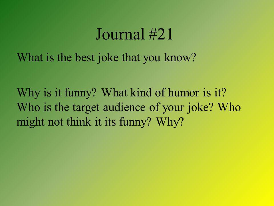 Journal #21