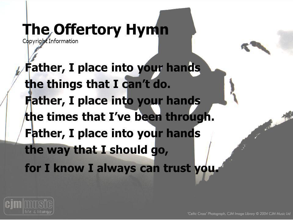 The Offertory Hymn Copyright Information