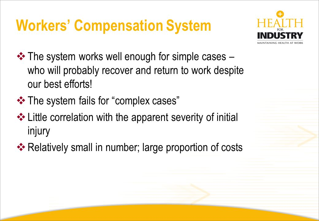 Workers' Compensation System