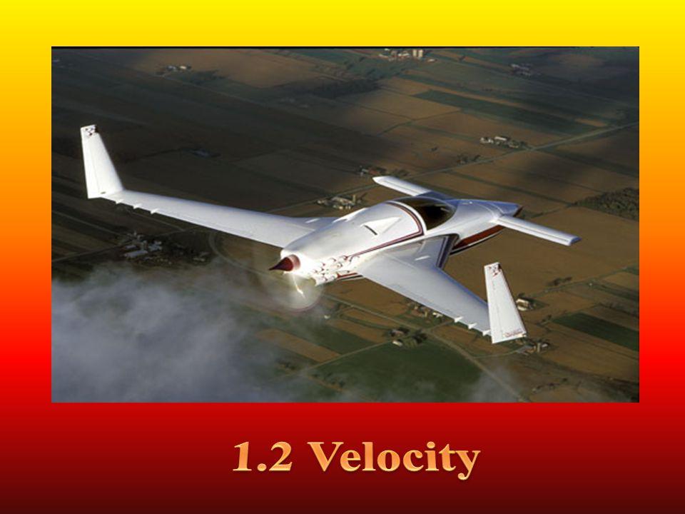 1.2 Velocity