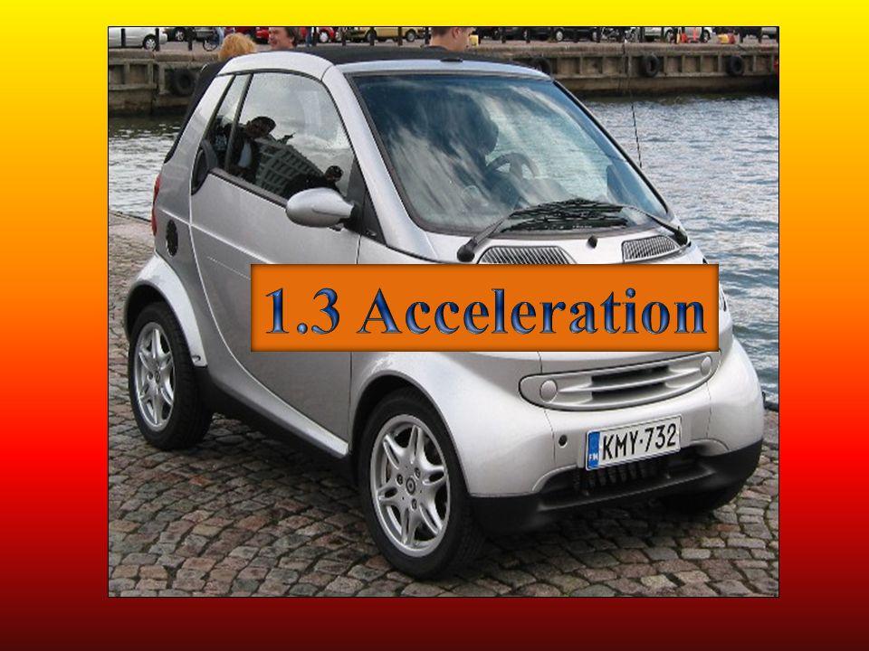 1.3 Acceleration