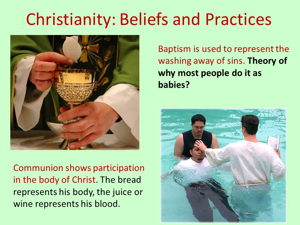 Christianity: Beliefs and Practices