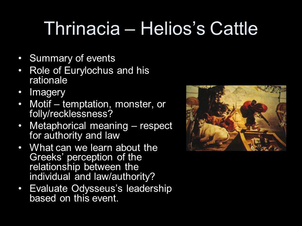 Thrinacia – Helios's Cattle