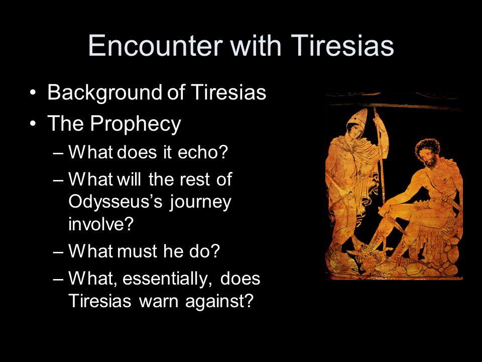 Encounter with Tiresias