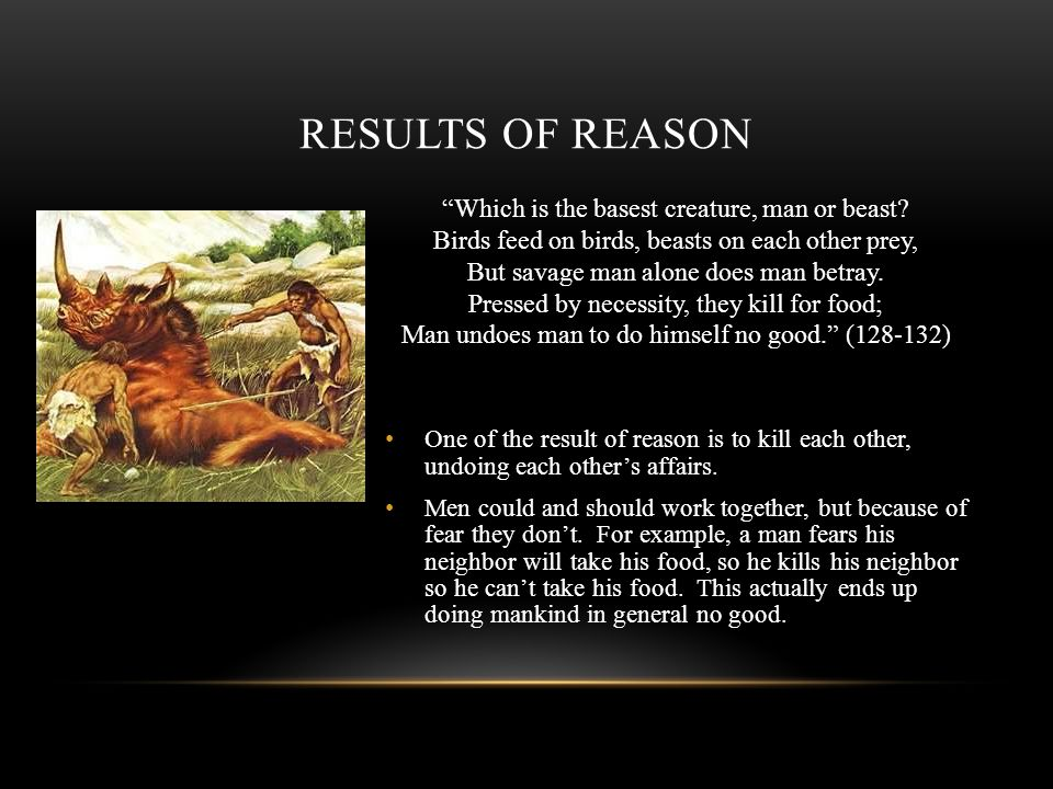 Results of Reason