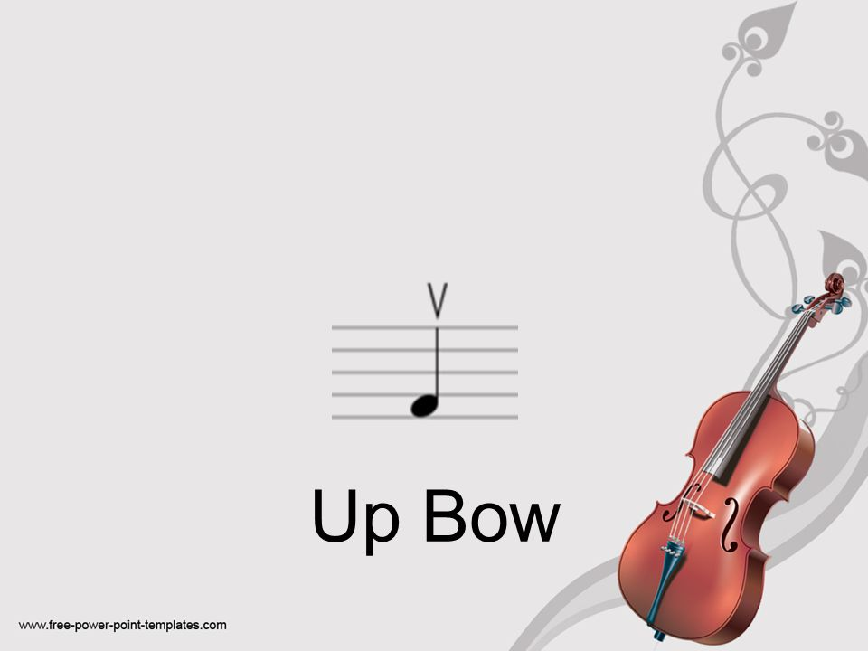 Up Bow