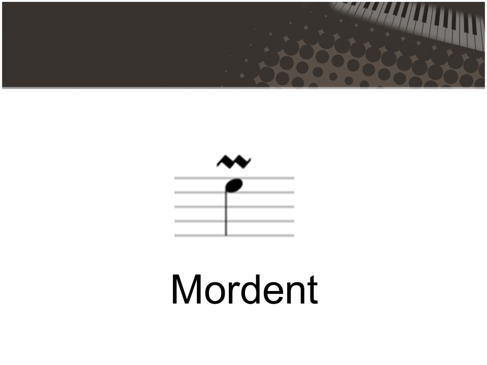 Mordent