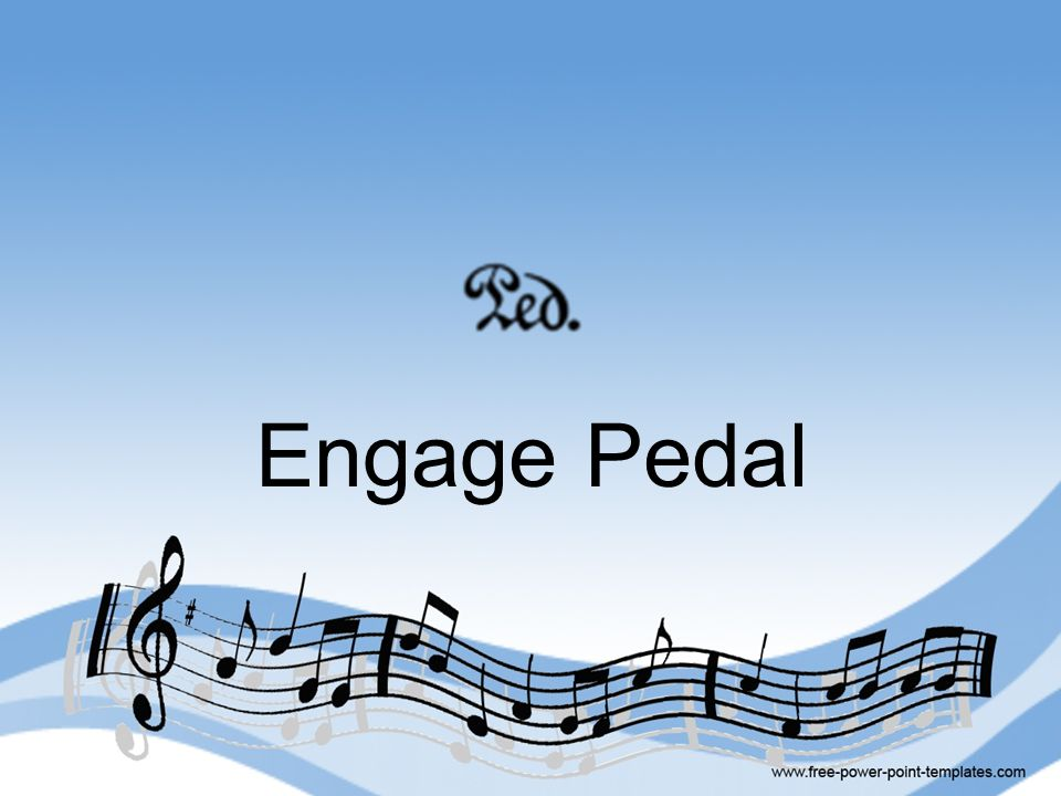 Engage Pedal