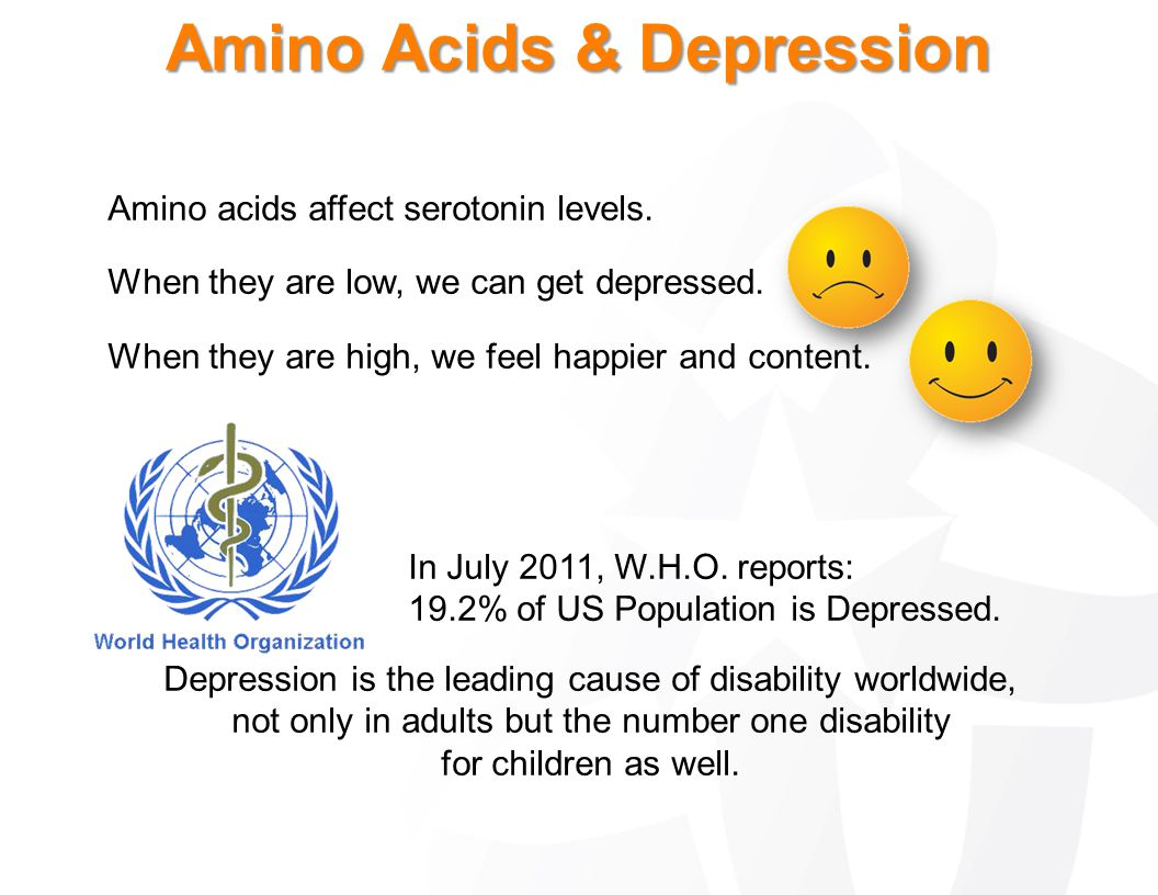 Amino Acids & Depression