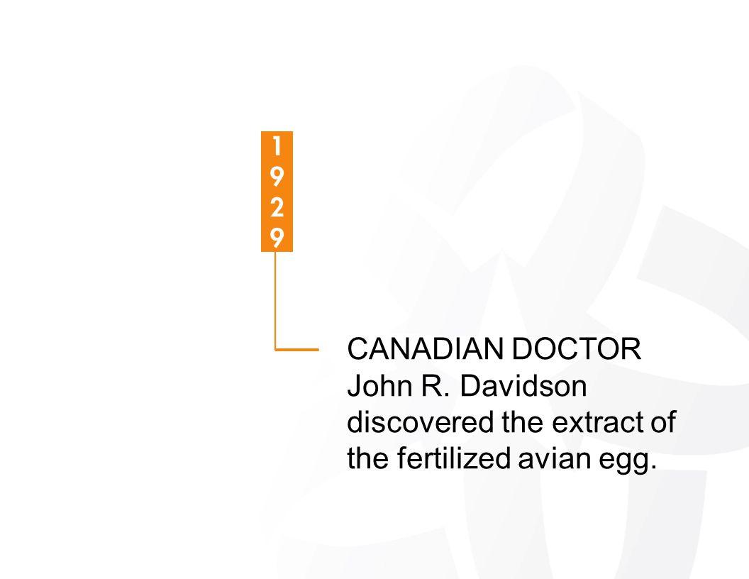 CANADIAN DOCTOR John R. Davidson