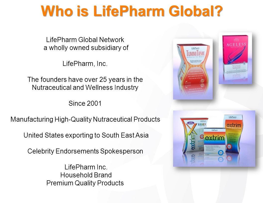 Who is LifePharm Global