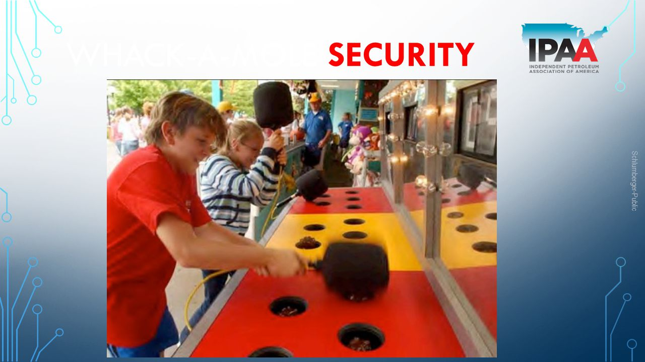 Whack-a-mole security
