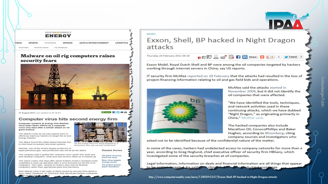 Other Cyber Attack to oil & gas