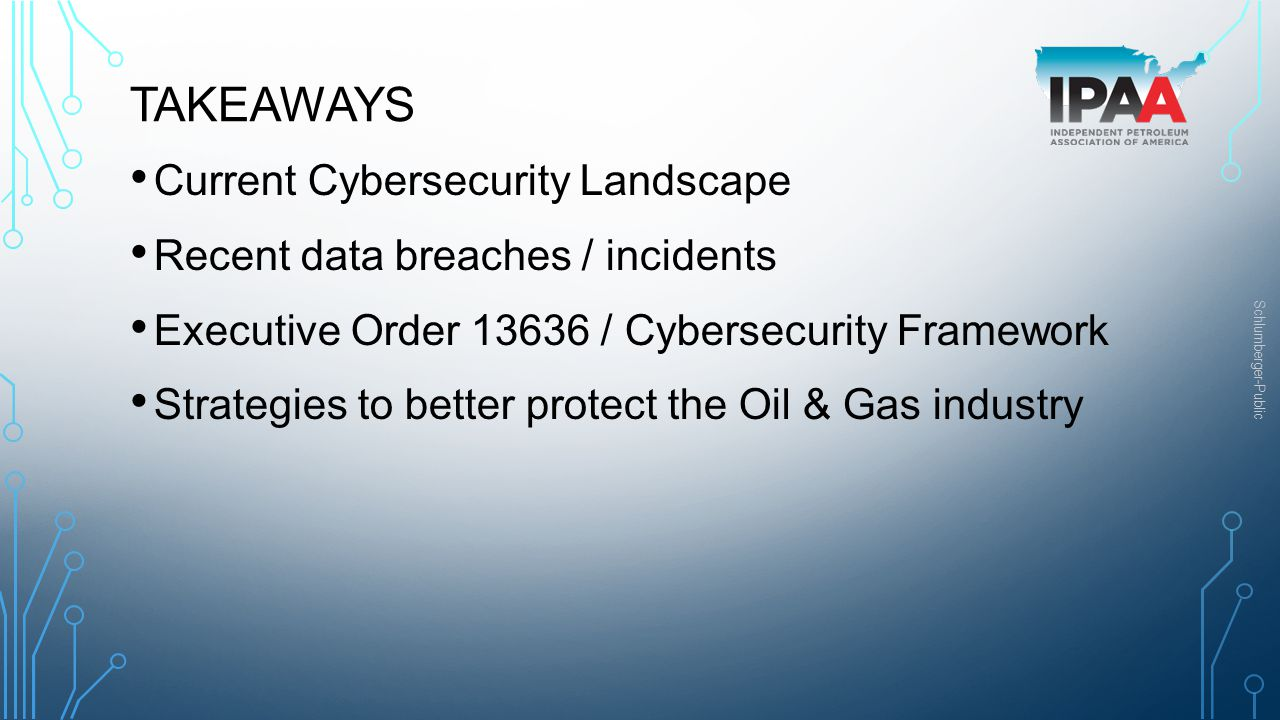 Takeaways Current Cybersecurity Landscape