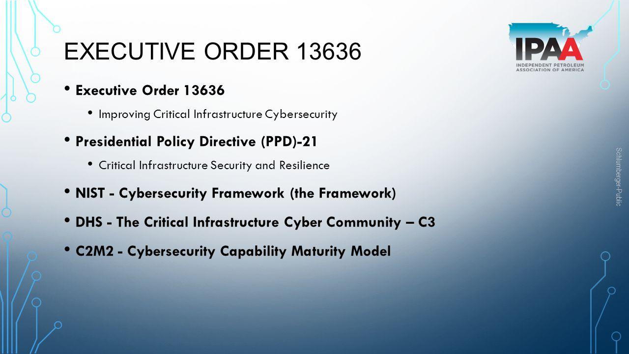 Executive Order 13636 Executive Order 13636