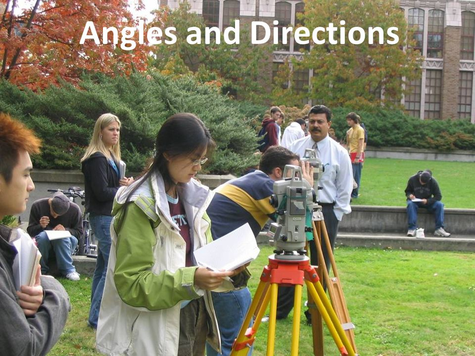 Angles and Directions