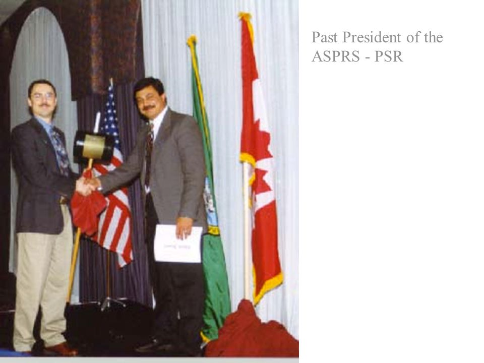 Past President of the ASPRS - PSR