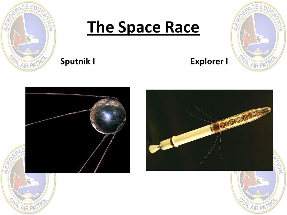 The Space Race Sputnik I Explorer I