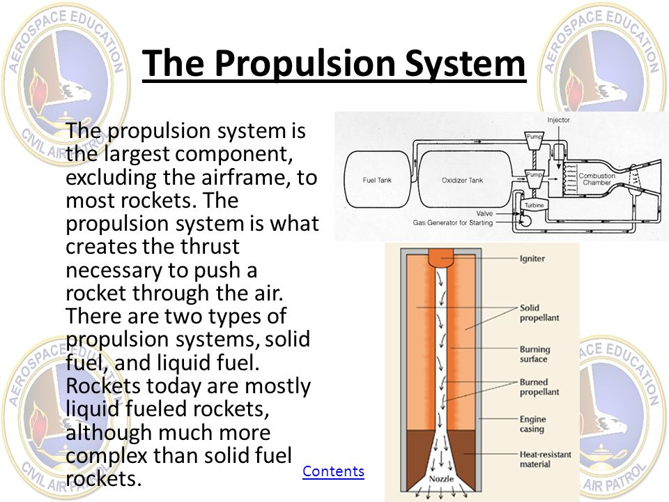 The Propulsion System