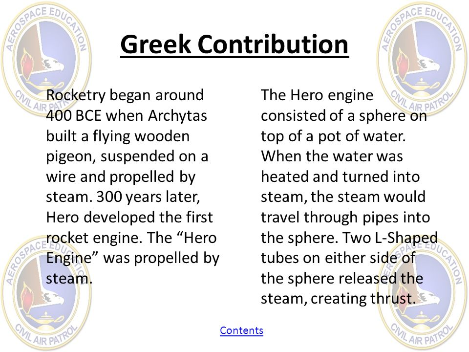 Greek Contribution