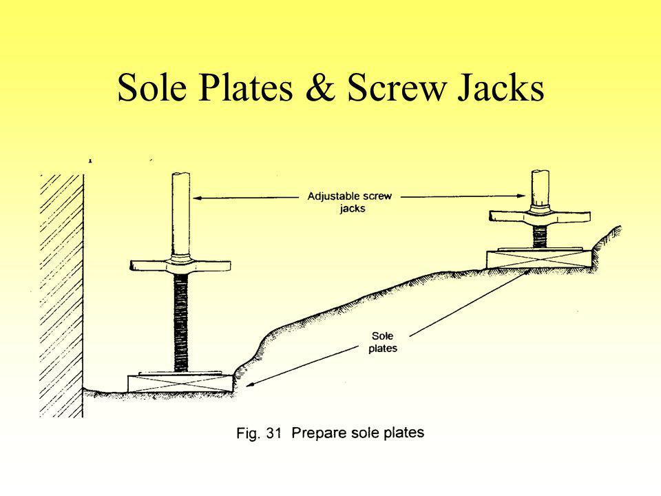 Sole Plates & Screw Jacks