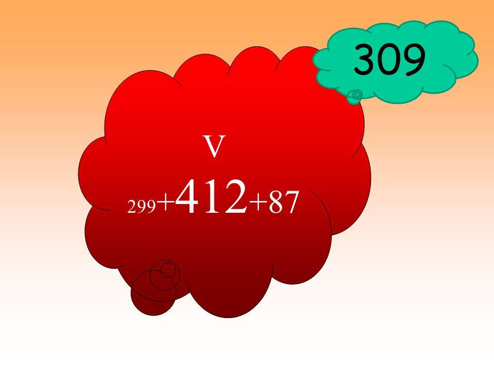 309 V 299+412+87