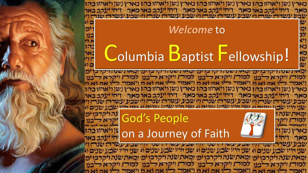 Columbia Baptist Fellowship!