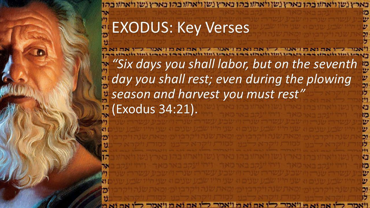 EXODUS: Key Verses