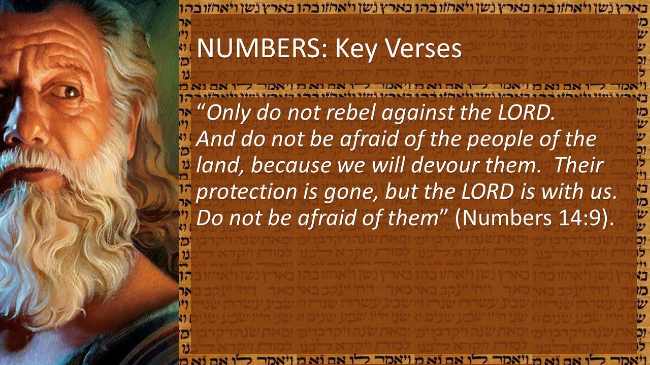 NUMBERS: Key Verses
