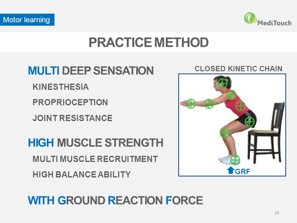 PRACTICE METHOD MULTI DEEP SENSATION HIGH MUSCLE STRENGTH