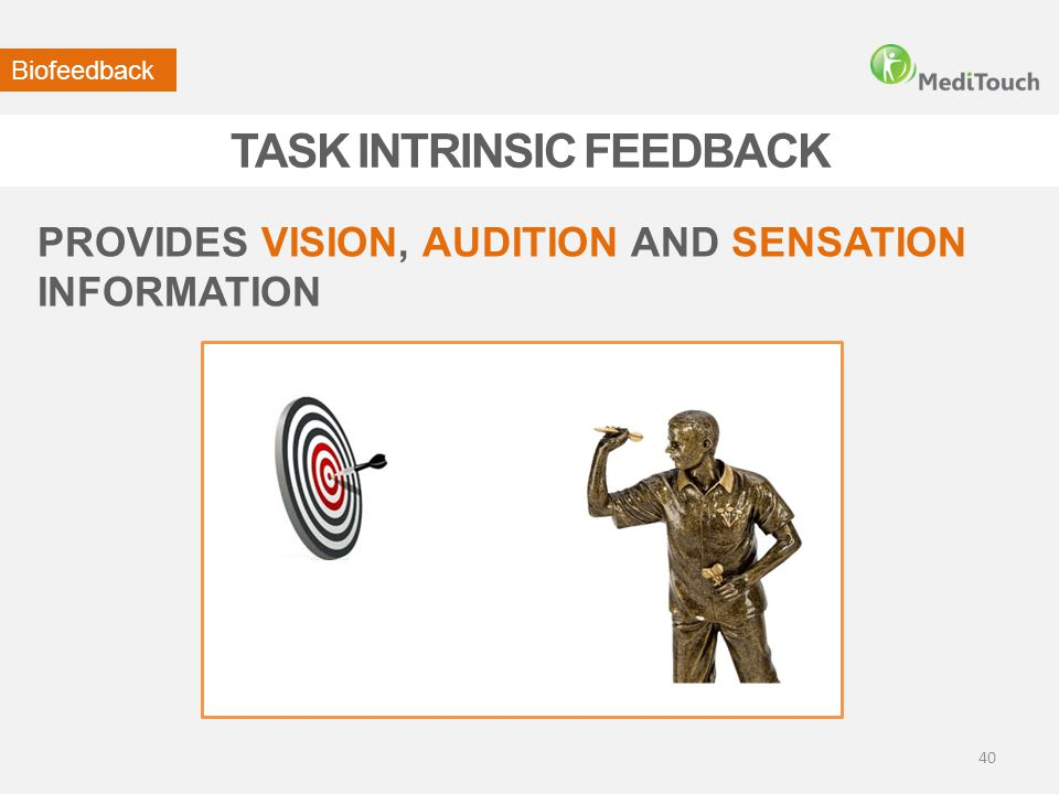 TASK INTRINSIC FEEDBACK