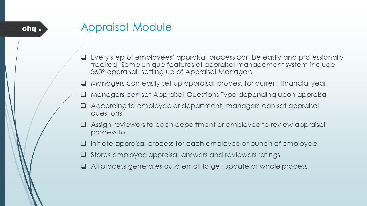 Appraisal Module