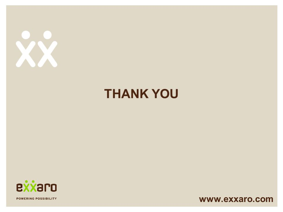 THANK YOU www.exxaro.com