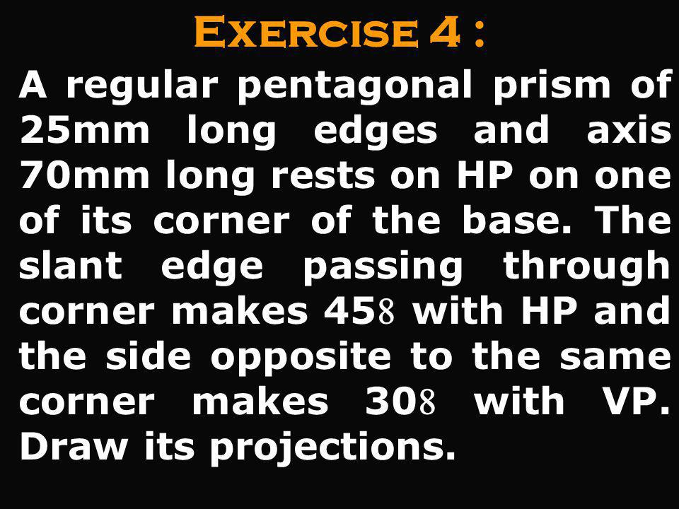 Exercise 4 :