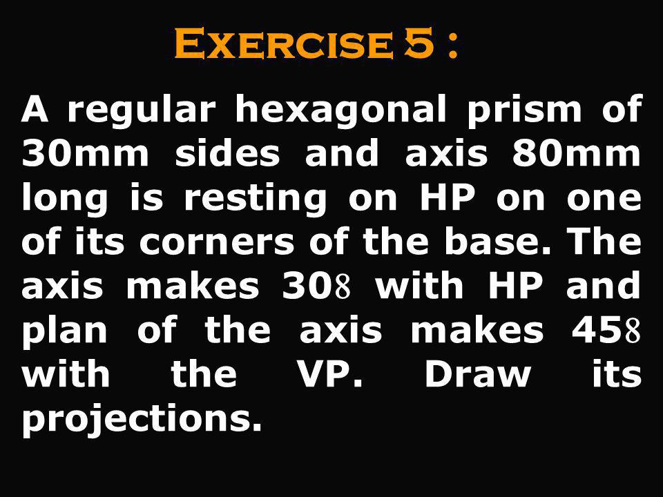 Exercise 5 :