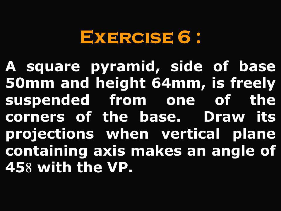 Exercise 6 :