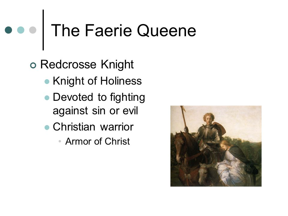The Faerie Queene Redcrosse Knight Knight of Holiness