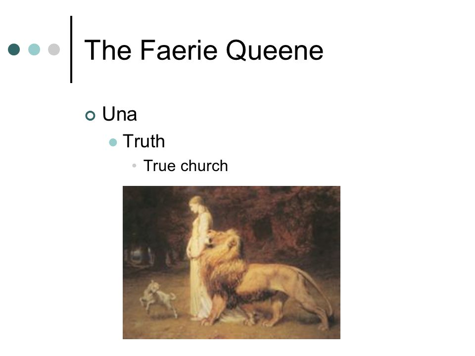 The Faerie Queene Una Truth True church