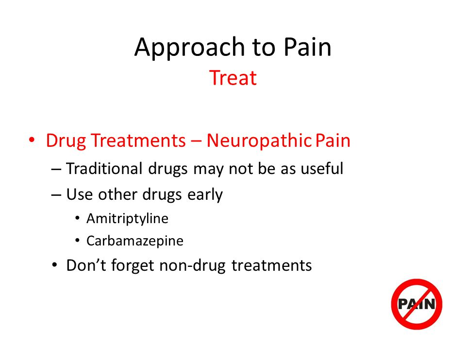 Approach to Pain Treat Drug Treatments – Neuropathic Pain
