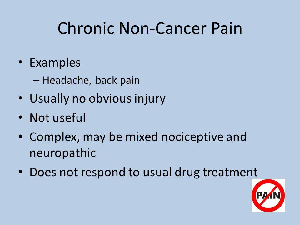 Chronic Non-Cancer Pain