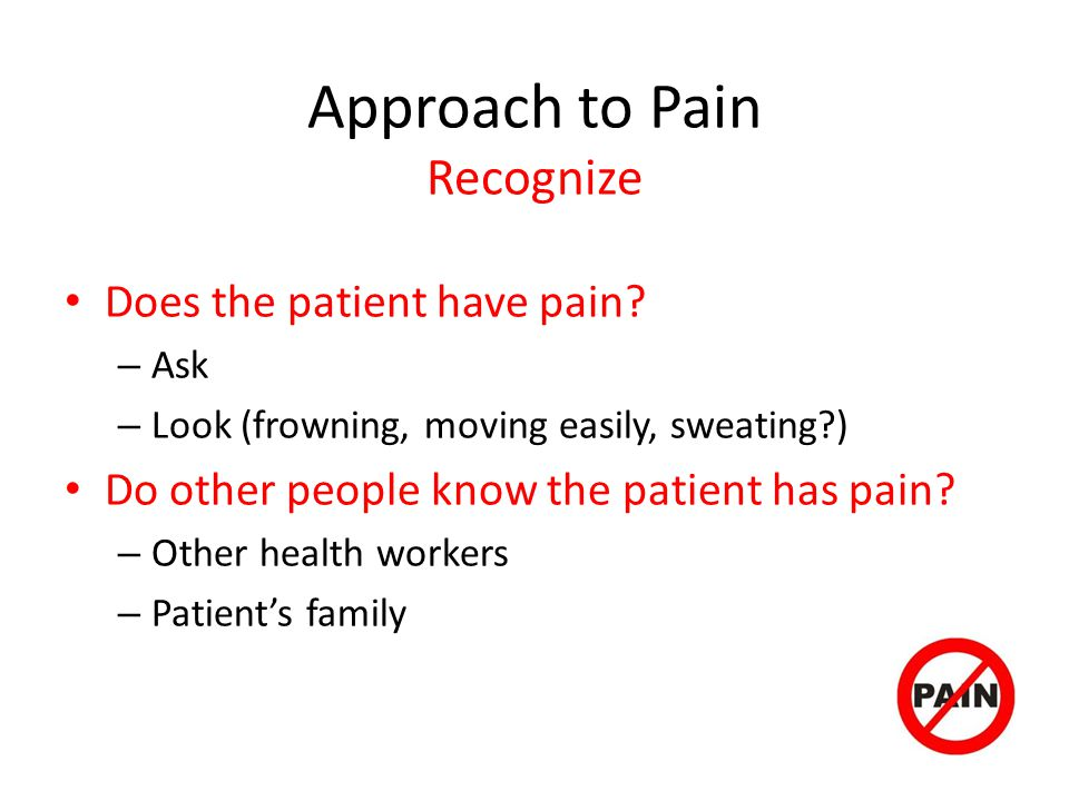 Approach to Pain Recognize