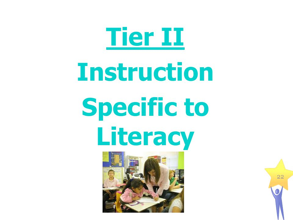 Tier II Instruction Specific to Literacy