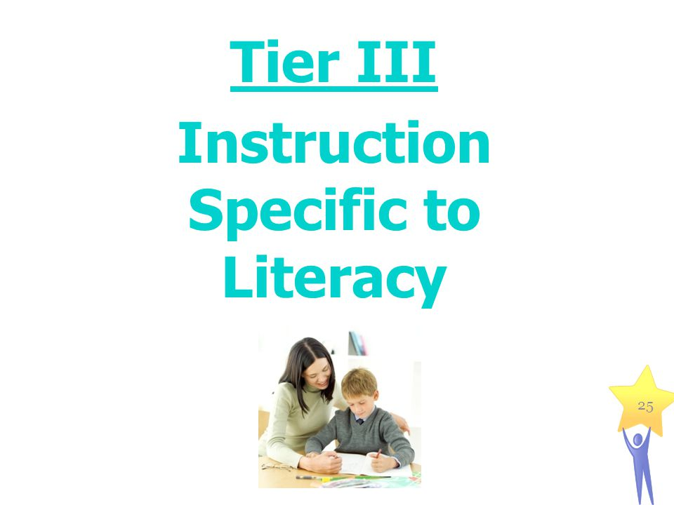 Tier III Instruction Specific to Literacy