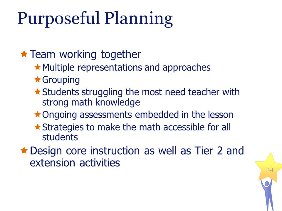 Purposeful Planning Team working together